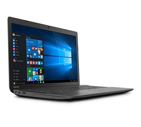 Toshiba Satellite C75D-B7297 17.3-Inch Laptop (Brushed Black)