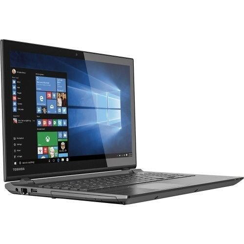 "Toshiba - Satellite 15.6"" Touch-Screen Laptop -5th Gen Intel Core i3 Processor/ 6GB Memory / 1TB HD / DVD±RW/CD-RW / Webcam / Windows 10"