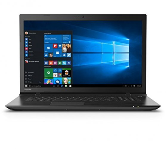"Toshiba Satellite C75-C7130 C75-C/7130 17.3"" Laptop (Brushed Black)"