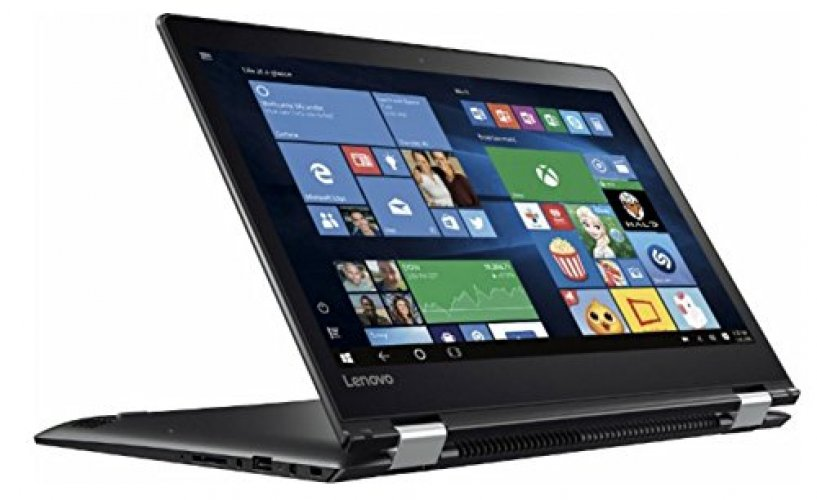 "Lenovo Flex 4 Convertible 2-in-1 14"" Touchscreen Laptop, Intel Pentium Dual Core Processor 2.1 GHz, 4GB DDR4 RAM, 500GB HDD, 802.11 AC, Bluetooth, Webcam, HDMI, USB 3.0, NO DVD, Windows 10"