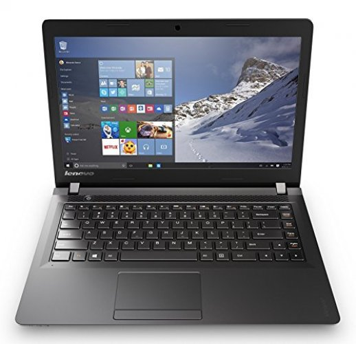 Lenovo IdeaPad 15.6 Inch HD Laptop (Intel Dual-Core Celeron N3060 1.6 GHz Processor, 4GB RAM, 500GB HDD, DVD RW, Bluetooth, Webcam, WiFi, HDMI, Windows 10) Black