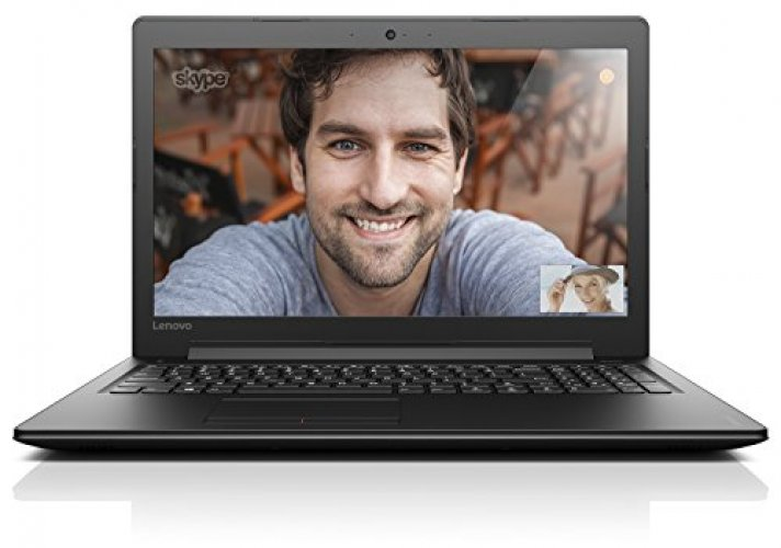 "Lenovo Ideapad 310 15.6"" Laptop, Black (Intel Core i3-7100U, 4GB, 1TB HDD, Intel HD Graphics 620, Windows 10) 80TV00BJUS"