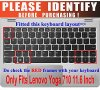 "CaseBuy Ultra Thin Silicone Gel Keyboard Protector Skin Cover for Lenovo Yoga 710-11 11.6"" Touch-Screen Laptop Only - Clear"