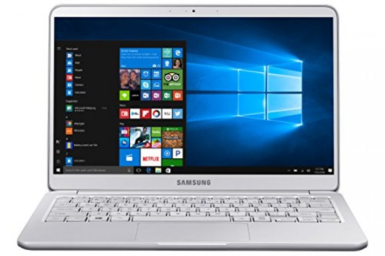 "Samsung Notebook 9 Ultra-Slim Laptop, 13.3"" Full HD, Intel i7-7500U, 16GB RAM, Windows 10 Home, Fingerprint Sensor, 1.8lbs, Light Titan - NP900X3N-K04US"