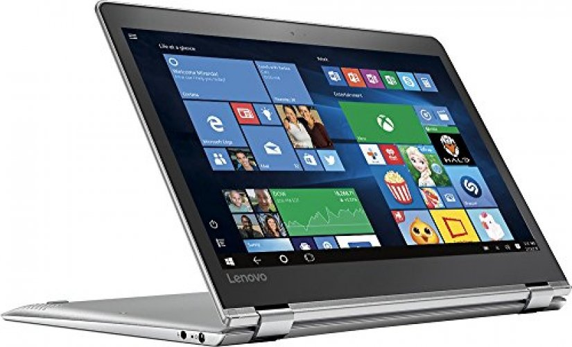 "2017 Lenovo Yoga 710 2-in-1 11.6"" FHD IPS High Performance Touch-Screen Laptop, Intel Pentium Processor, 4GB RAM, 128GB SSD, HDMI, Bluetooth, 802.11ac, Webcam, No DVD, Win10-Aluminum chassis"