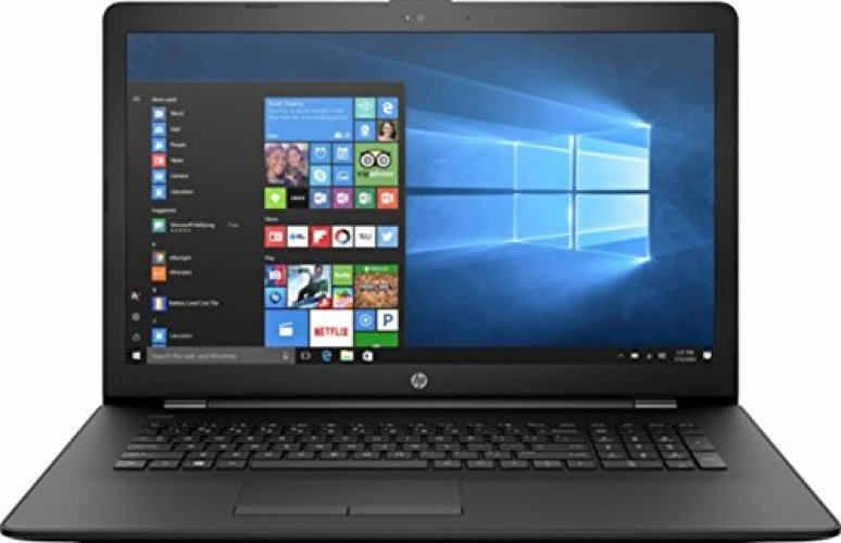 "HP 17.3"" HD+ Premium Laptop, AMD Dual-Core A9-9420 APU up to 3.6GHz, 4GB DDR4, 1TB HDD, AMD Radeon R5 Graphics, 802.11ac, Bluetooth 4.0, DVD RW, USB 3.1, Windows 10 Home, Black"
